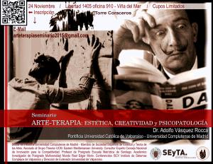 SEMINARIO: ARTE-TERAPIA, ESTÉTICA, CREATIVIDAD