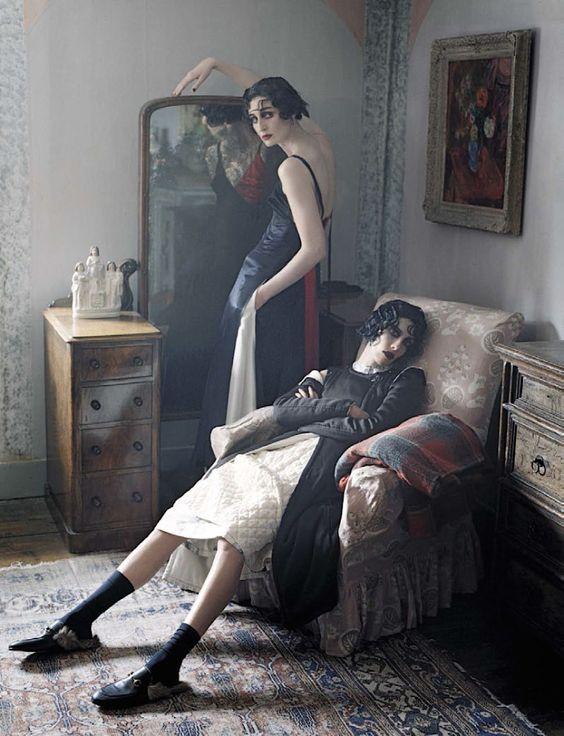 Tim Walker Captures Four Femmes In 'Rebel Riders' For Vogue Italia December 2015